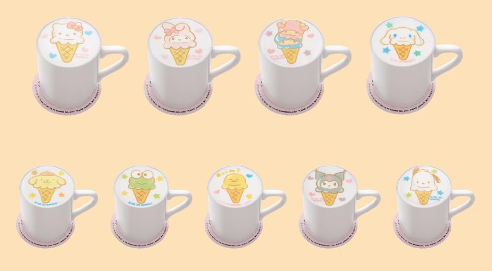 SANRIO CAFE 池袋店 ラテアート