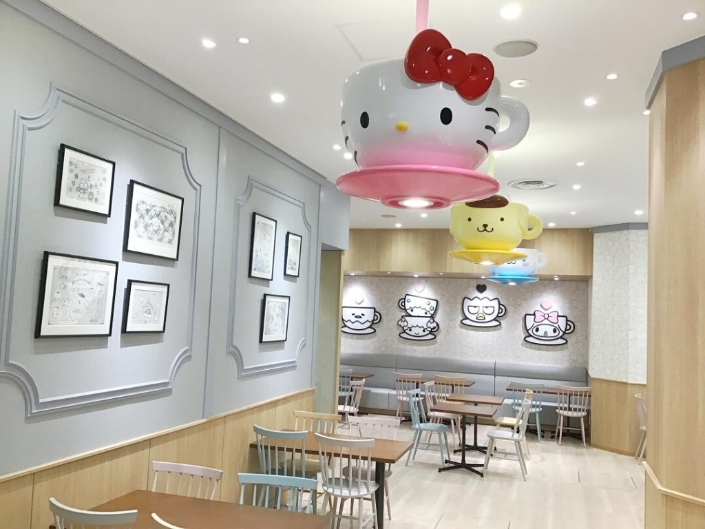 SANRIO CAFE 池袋店カフェスペース
