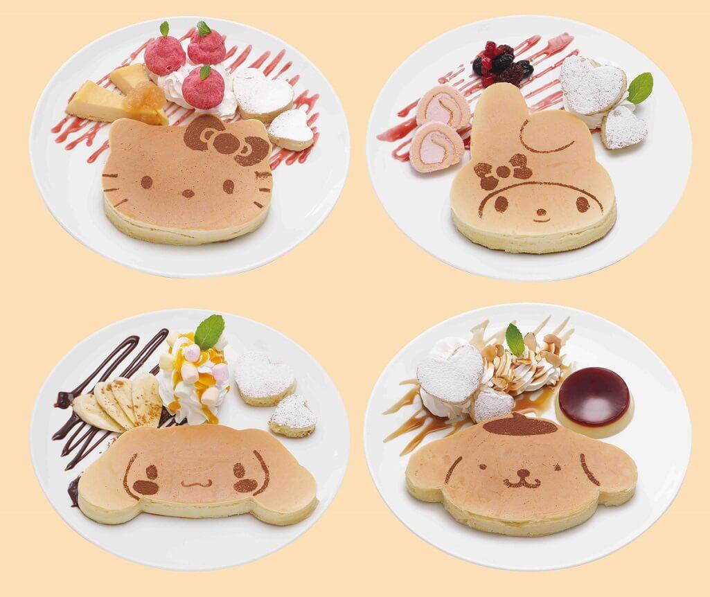 SANRIO CAFE 池袋店 パンケーキ