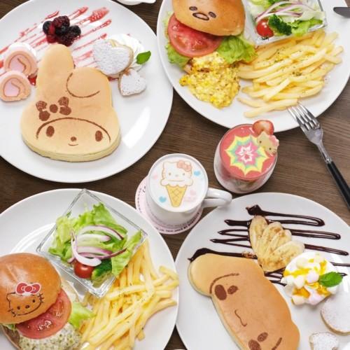 SANRIO CAFE 池袋店 メニュー
