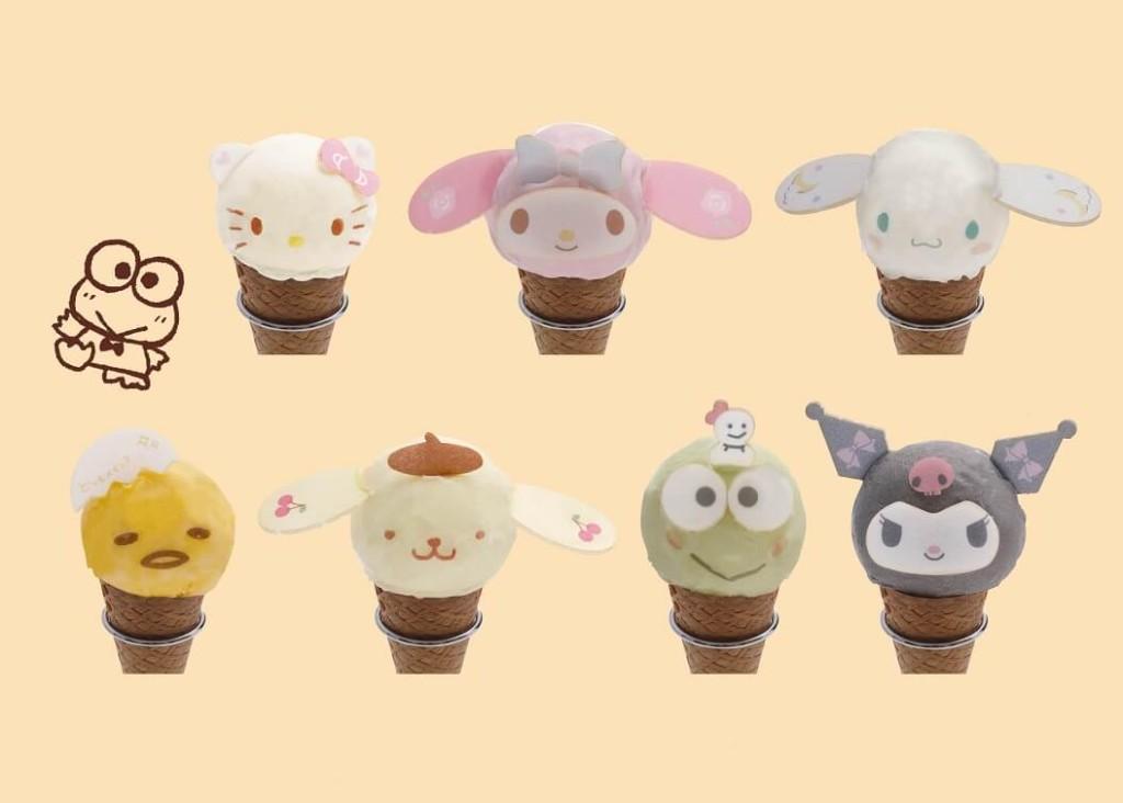 SANRIO CAFE 池袋店 アイスクリーム