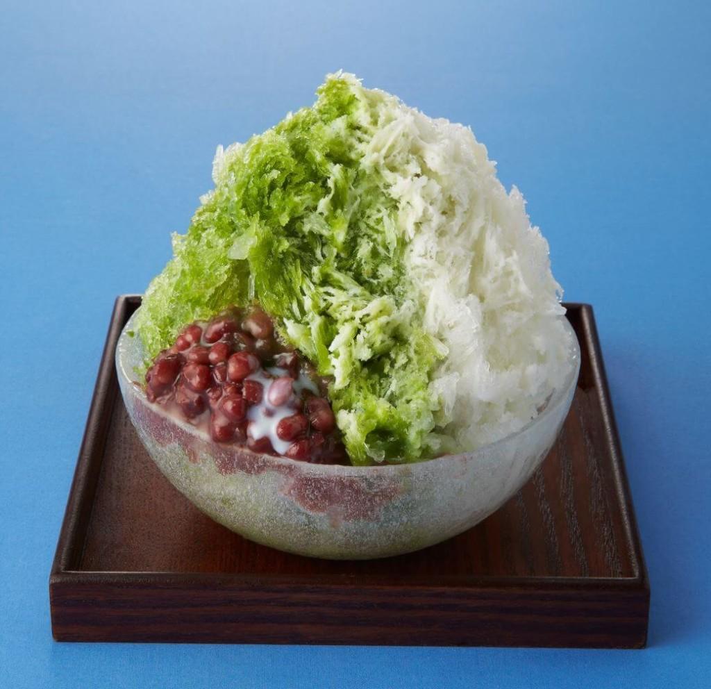 和カフェ Tsumugi 袋布向春園お抹茶&北海道あずき