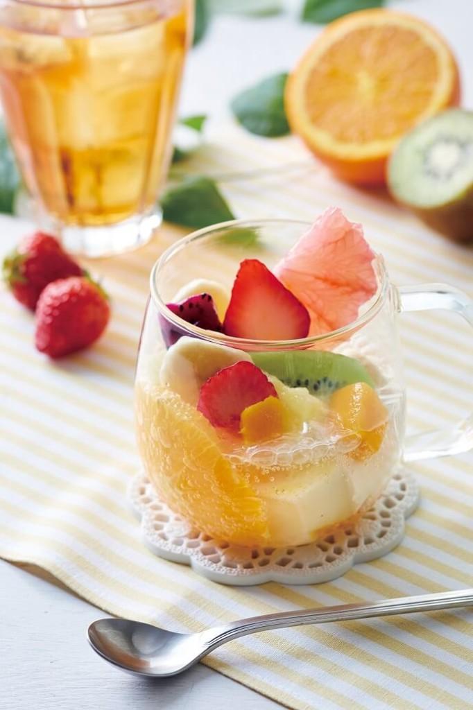 アフタヌーンティー・ティールーム いろいろフルーツと杏仁豆腐のフルーツポンチ