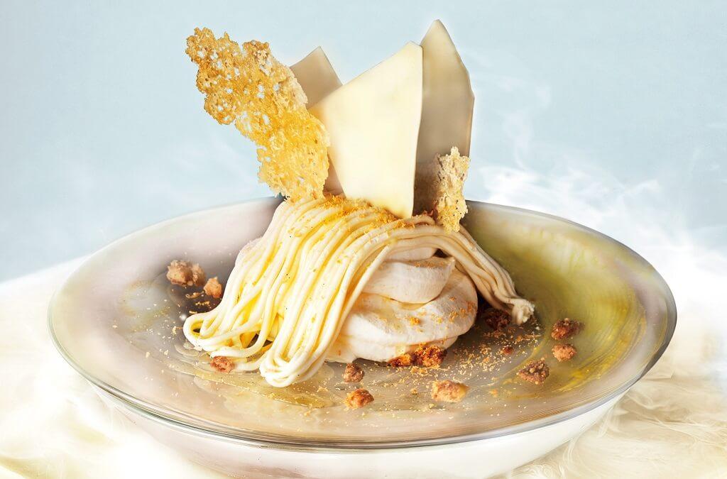 ビブリオテーク 北海道産マスカルポーネの濃厚エアリーチーズ生モンブラン