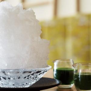 神楽坂 茶寮 かき氷