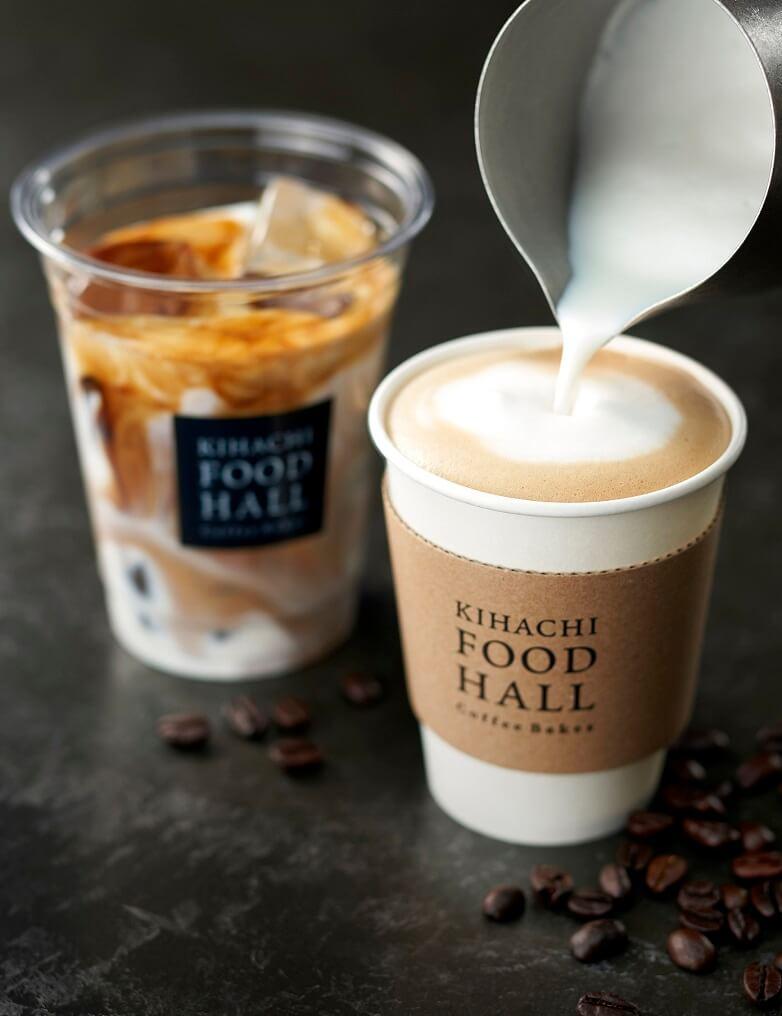 キハチ コーヒースタンド コーヒー