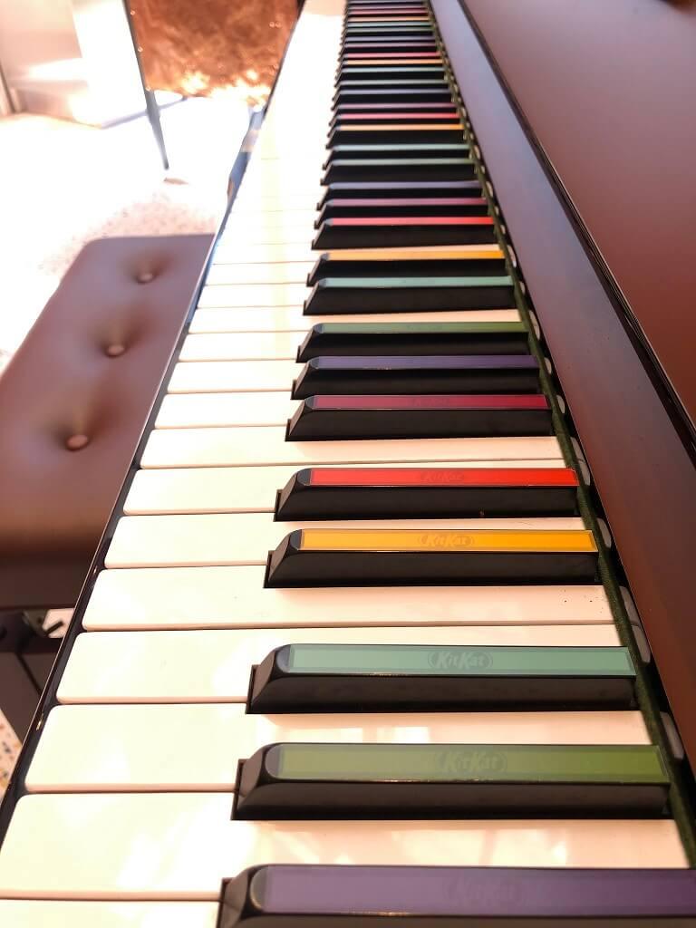 キットカットショコラトリー ピアノ
