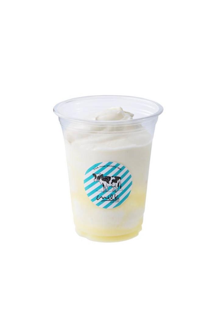 生クリームミルク氷