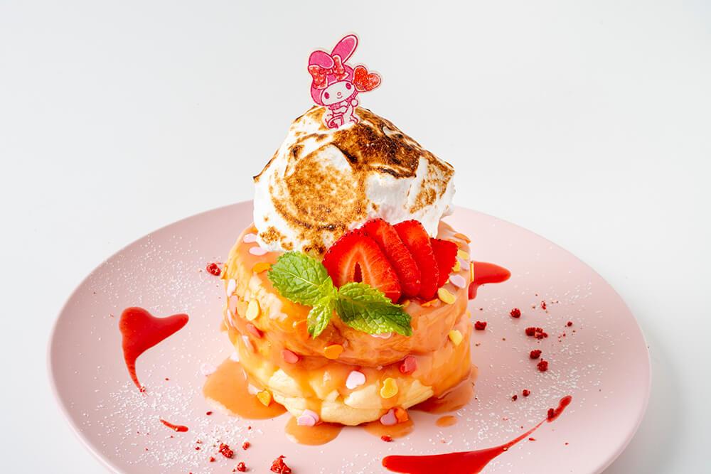 マイメロカフェ パンケーキ