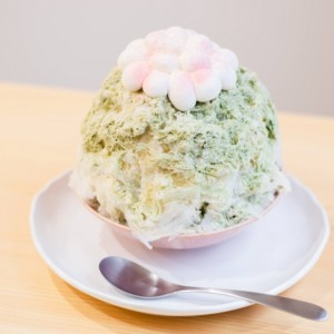かき氷専門店「ナナシノ氷菓店」 ピスタチオアングレーズ