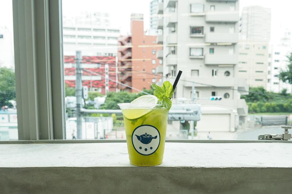 すすむ屋茶店 グリーンティーモヒート