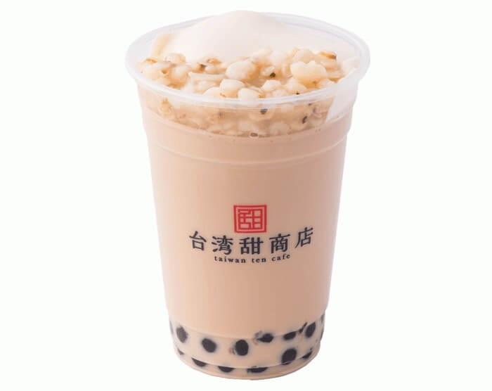 ハトムギ豆花ミルクティー
