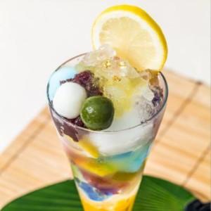 【期間限定】茶寮都路里で大丸東京限定「琥珀パフェ」発売!まるで宝石のような輝き