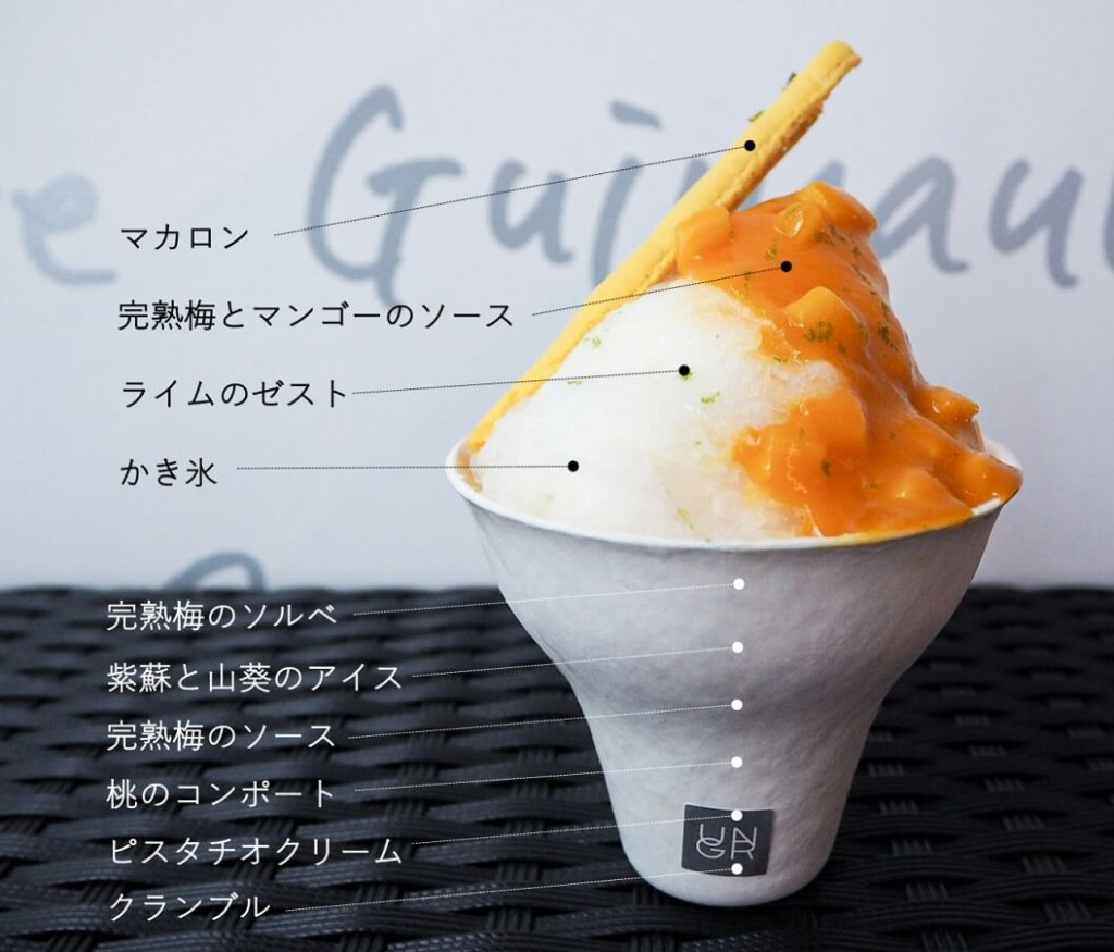 アングラン Parfum Parfait 〜かき氷パフェ〜