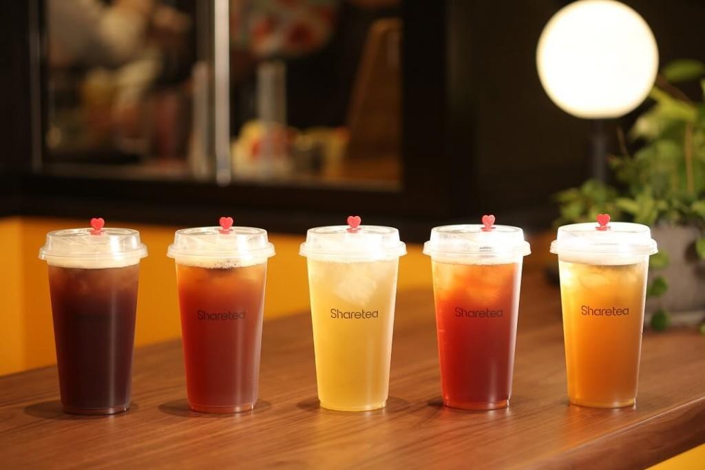 『Sharetea』定番台湾茶5種
