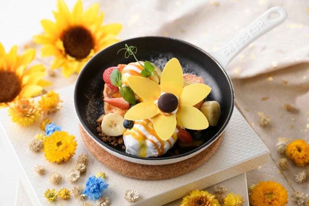 アニヴェルセルカフェ みなとみらい横浜 Sunflower pain perdu