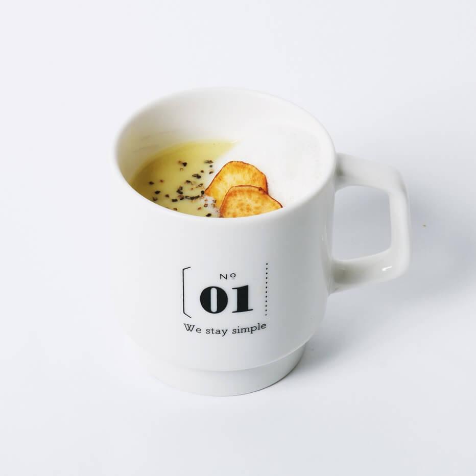 BOTANIST cafe ソイポタージュ スイートポテト
