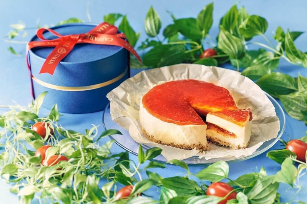 Caffarel 「トマトチーズケーキ」