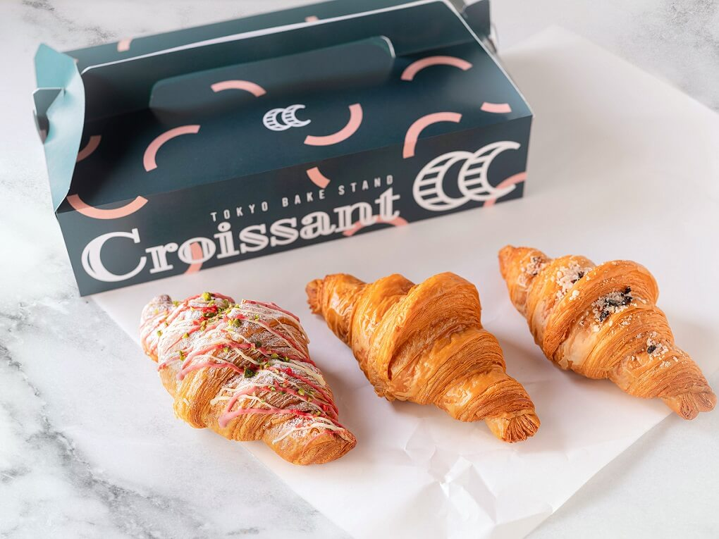 Curly's Croissant TOKYO BAKE STAND プレミアムクロワッサンセット