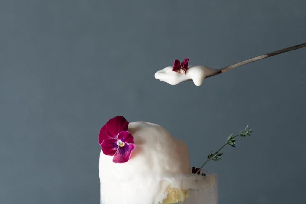 HANABAR お花の秋色クリームソーダ