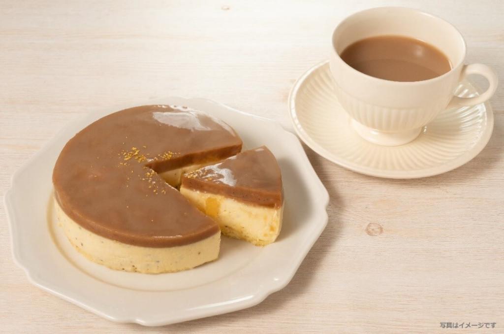 MON・THENOIR 紅茶のクレームフロマージュケーキ