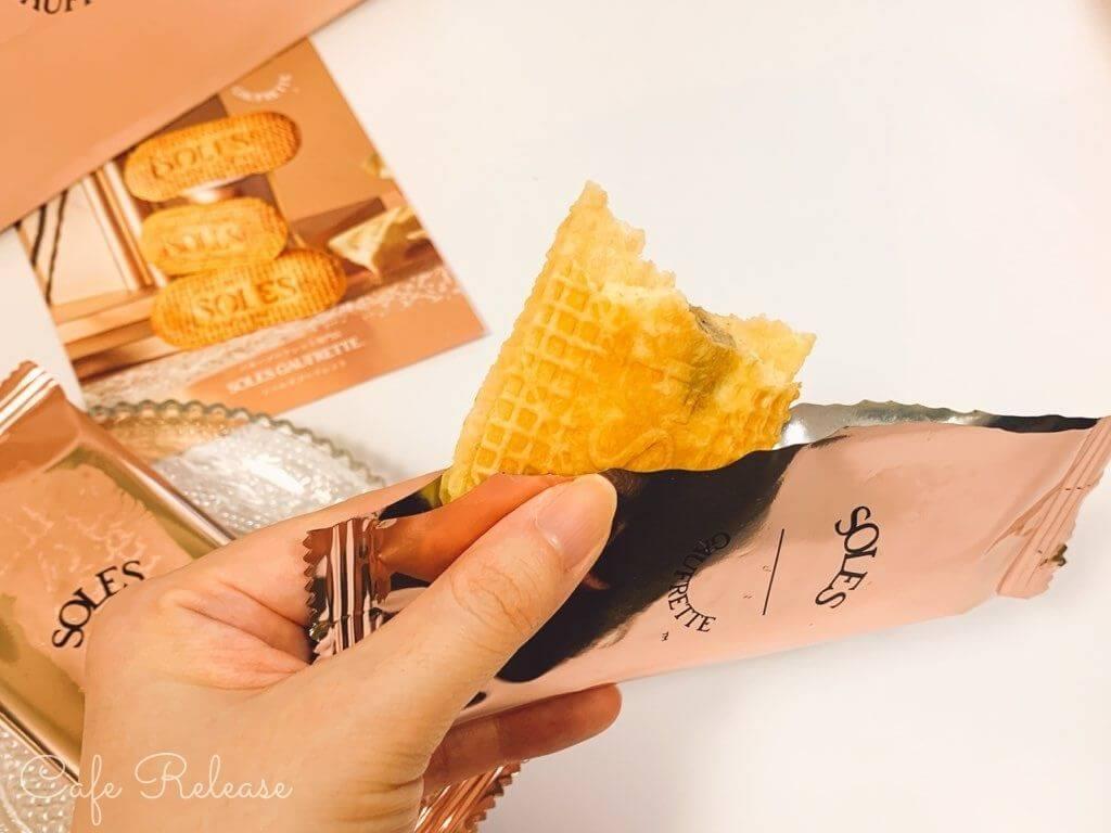 SOLES GAUFRETT バターゴーフレット レビュー