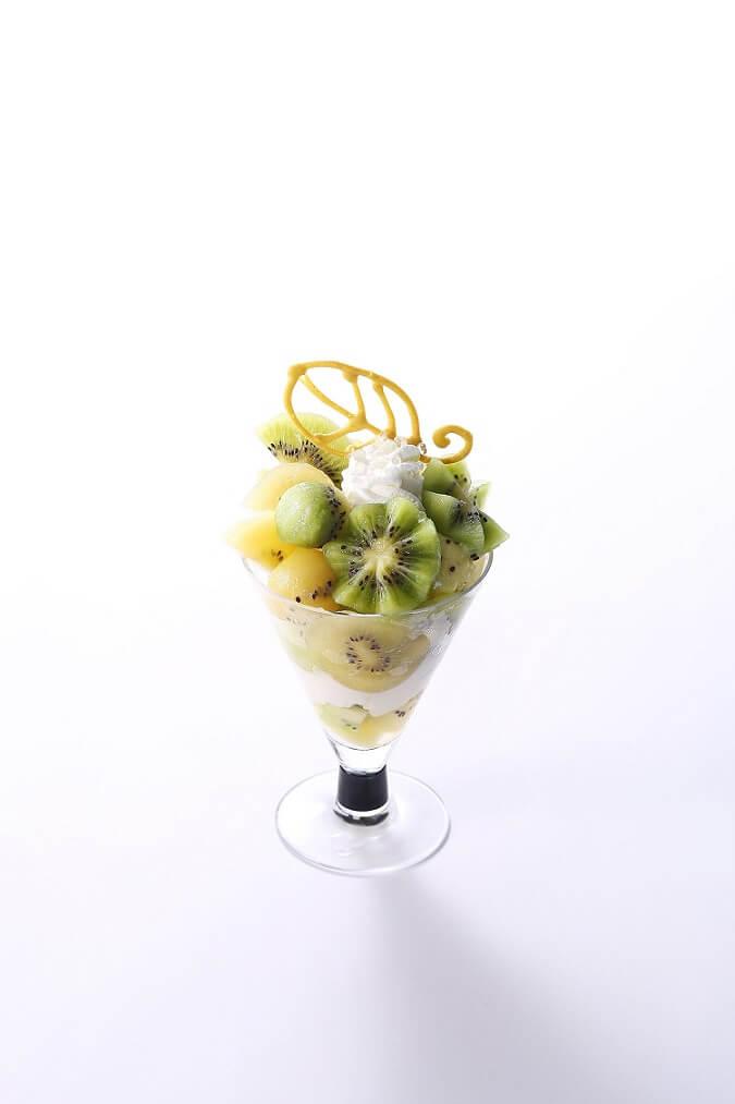 ゼスプリ キウイフルーツのパフェ