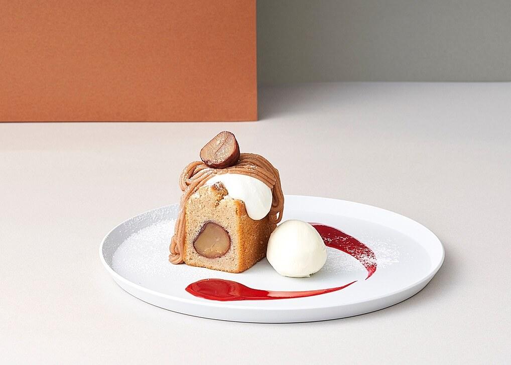 ビブリオテーク モンブランパウンドケーキ