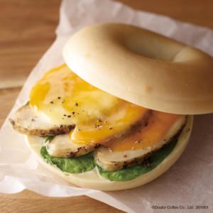 【新作】エクセルシオールカフェのベーグルが新しくなりました!サンドイッチ3種発売!