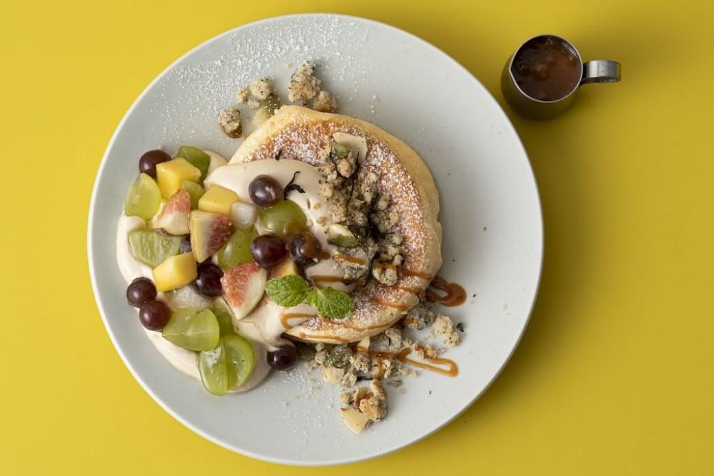 フリッパーズ 奇跡のパンケーキ オータムフルーツ&キャラメルミルクティー