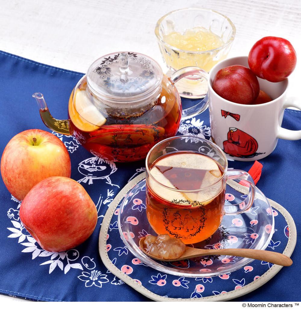 ムーミンカフェ ニンニ りんごの紅茶
