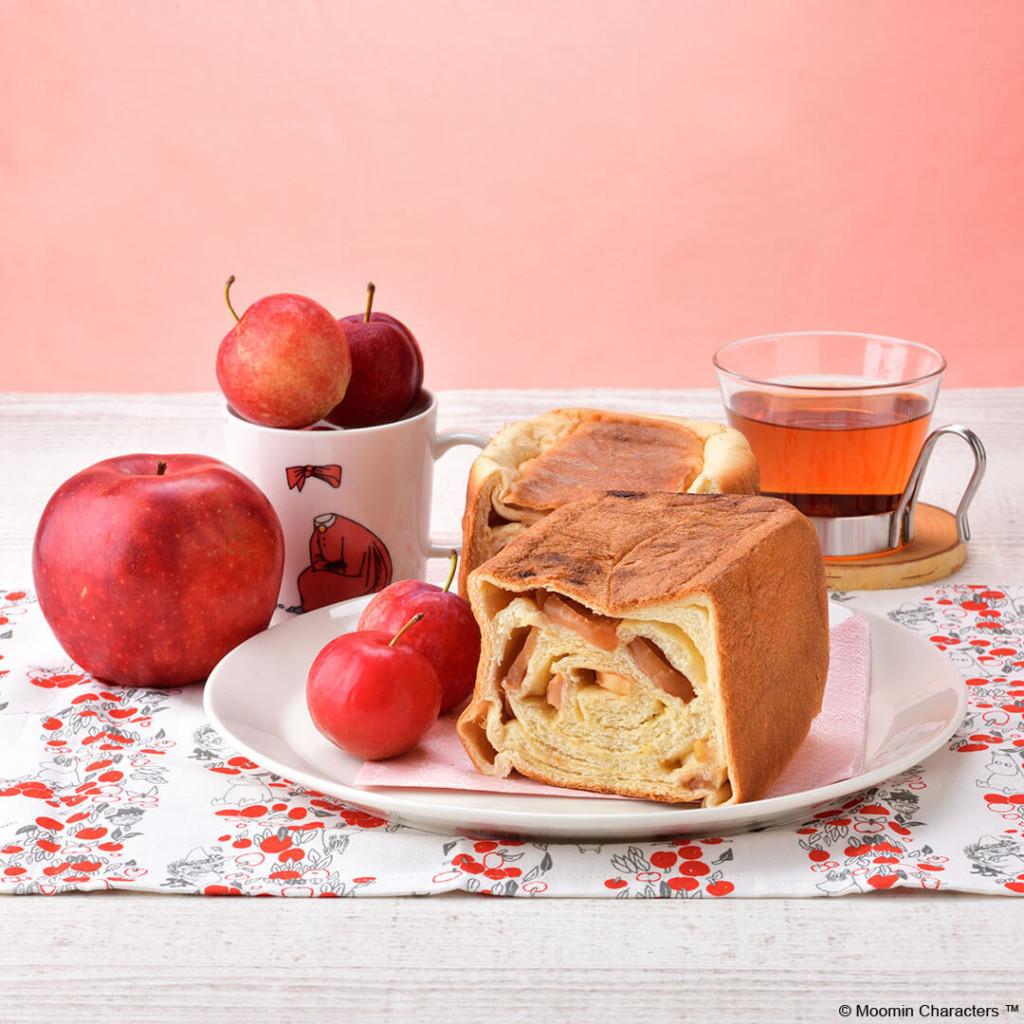 ムーミンカフェ ニンニ リンゴとカスタードのごちそうミニブレッド