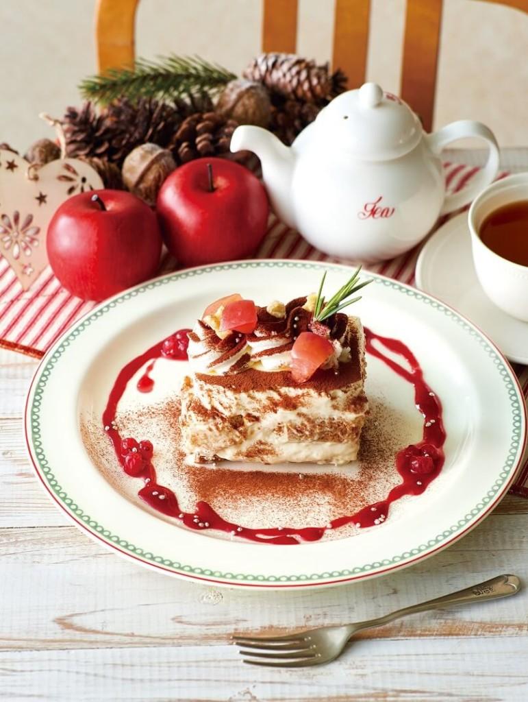 アフタヌーンティー・ティールーム 林檎と紅茶のティラミス