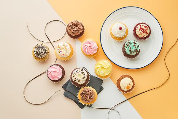 カップケーキ フローラルバースデーボックス