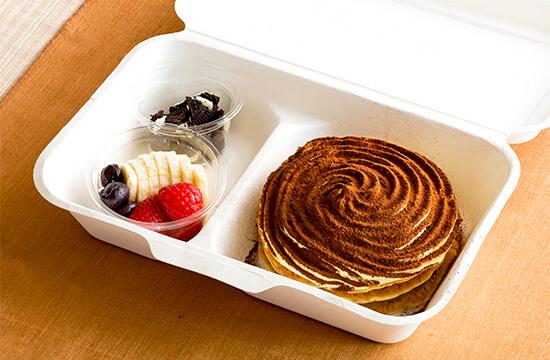 エッグスンシングス 『コナティラミスパンケーキ』