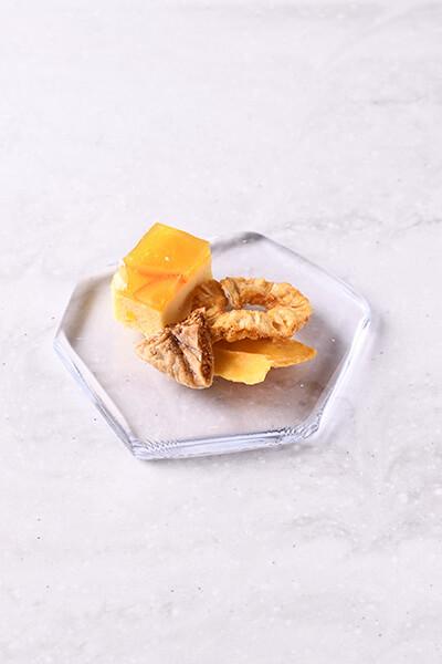 フルーツサロン 和栗といちじくのコース
