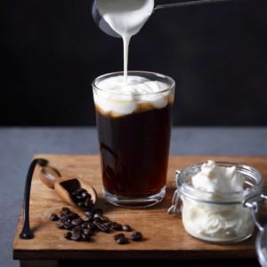 キハチフードホール コーヒーベイクス クリーミーチーズコーヒー