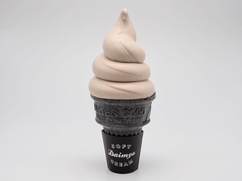 ミヤシタカフェ マロンのソフトクリーム