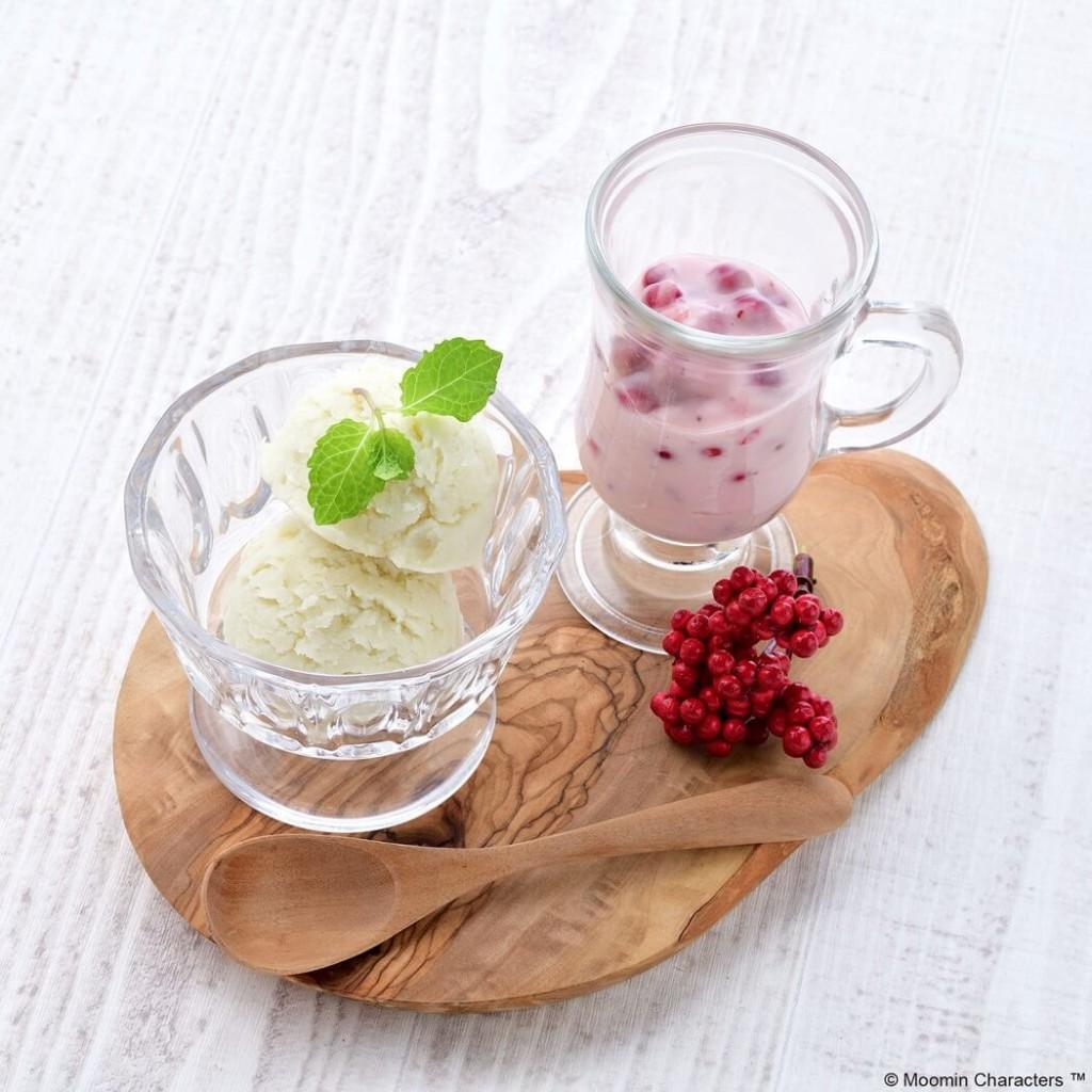 ムーミンカフェ ムーミン 約束のアイス