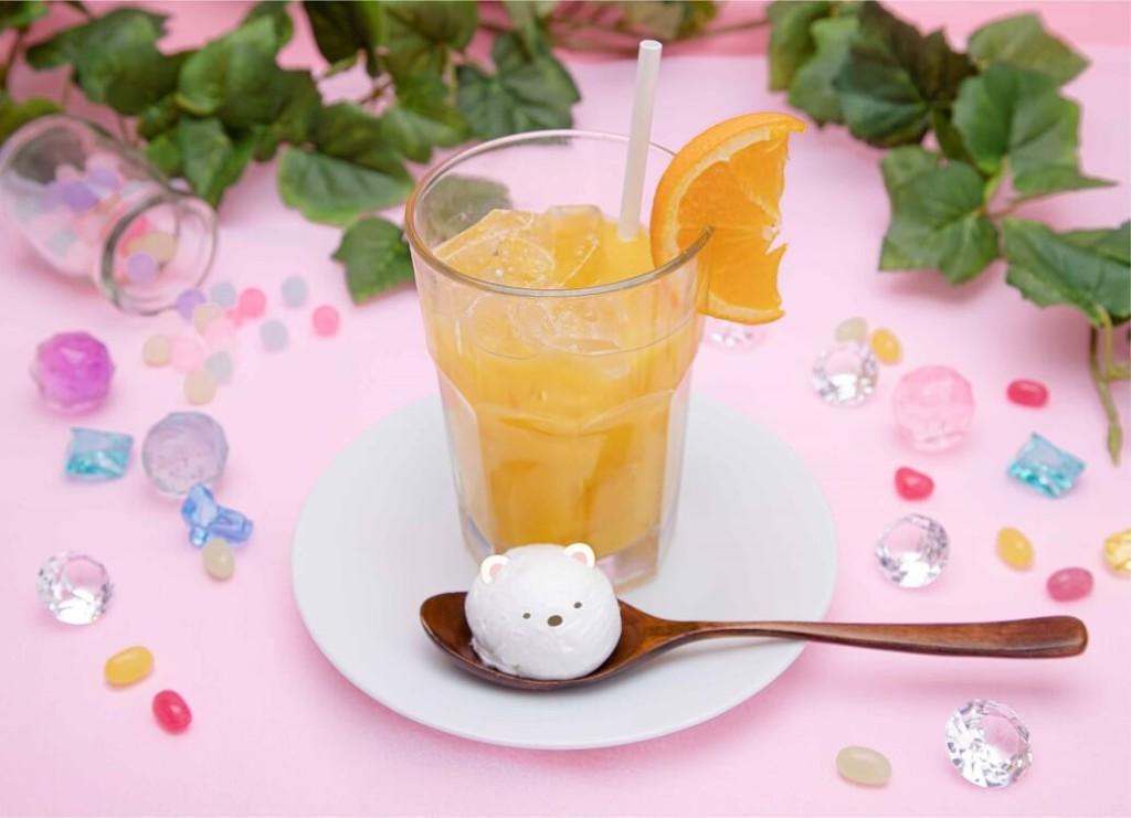 すみっコぐらし もぐらのおうちカフェ オレンジ