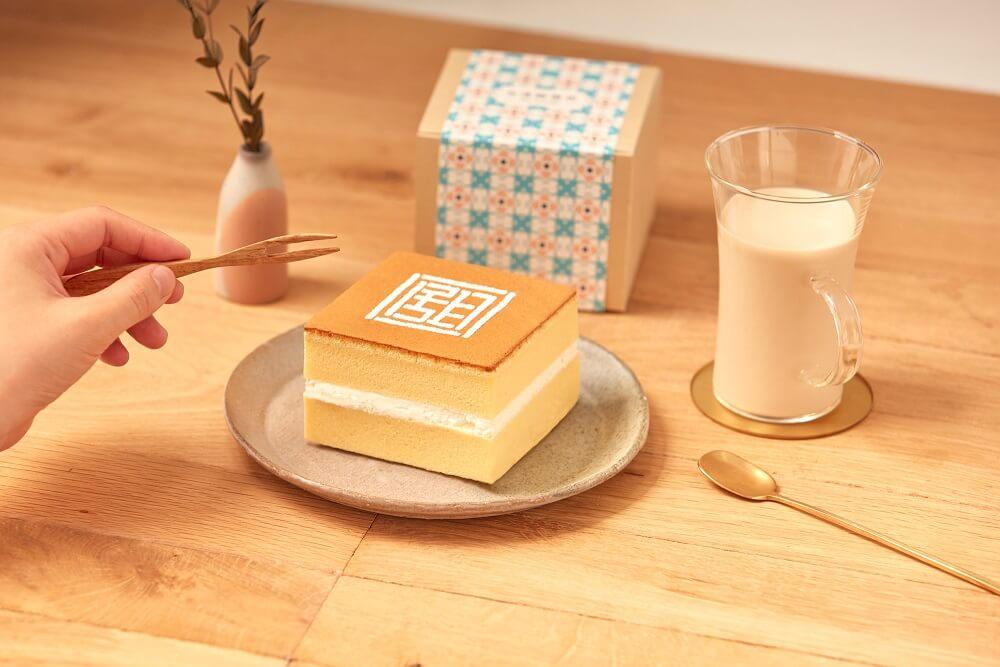 台湾甜商店 甜カステラ・ホイップ