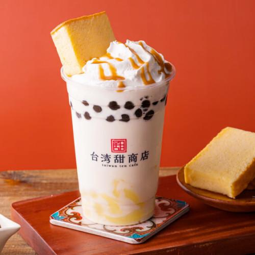 台湾甜商店 甜カステラチーズスムージー