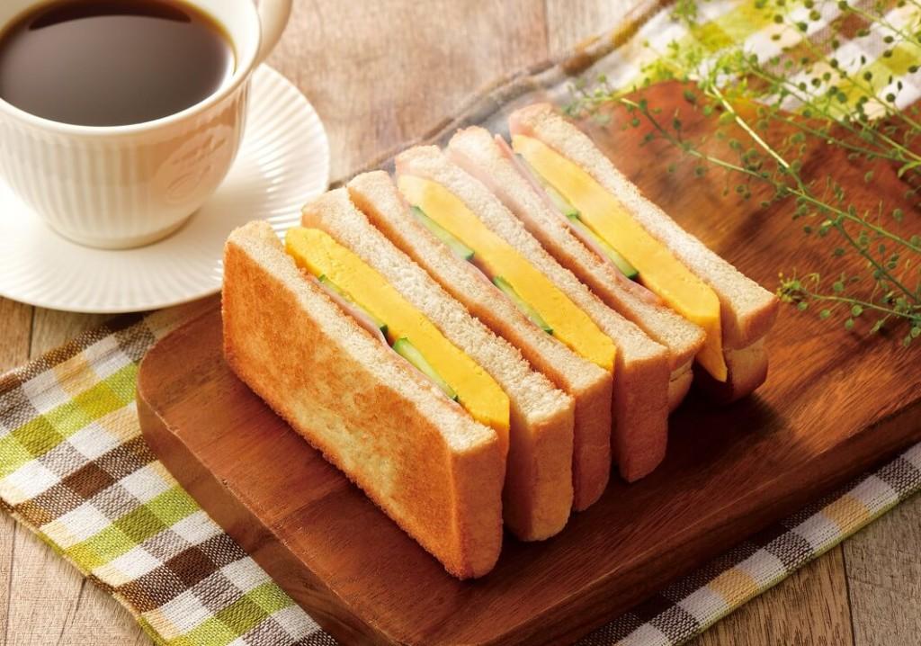 カフェドクリエ 『トーストサンド 厚焼き玉子~利尻昆布だし使用~』