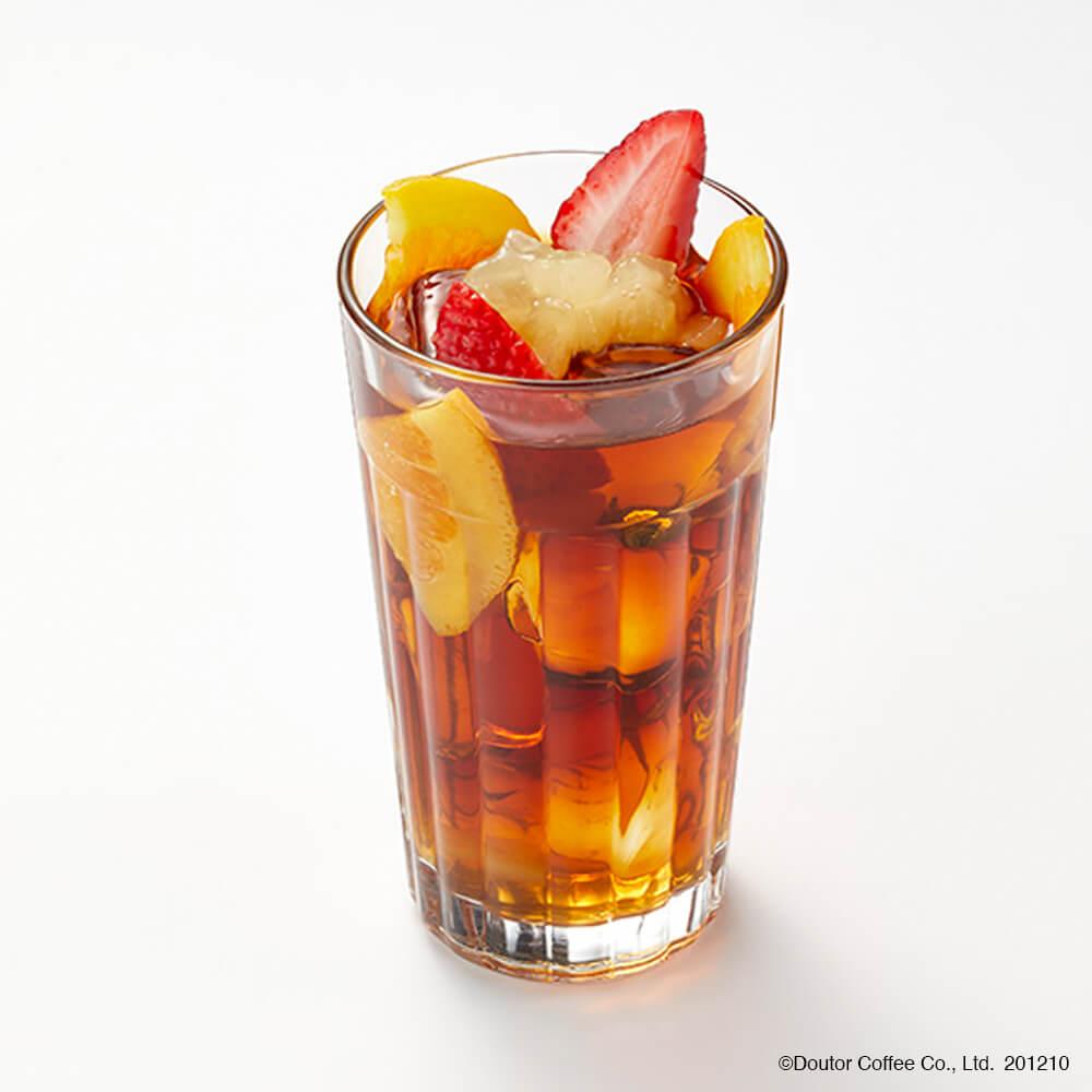 エクセルシオールカフェ フルーツティー ふじりんごソース