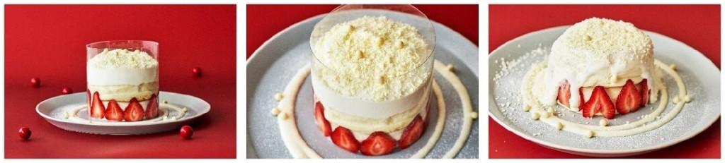 奇跡のパンケーキ ミルキーホワイトベリー