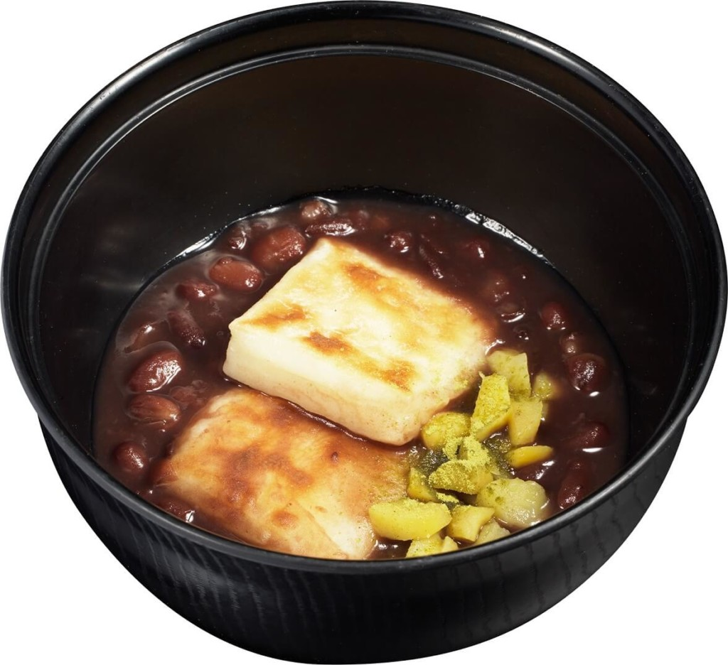 かっぱ寿司 焼餅入りぜんざい -王道・粒あん汁粉-