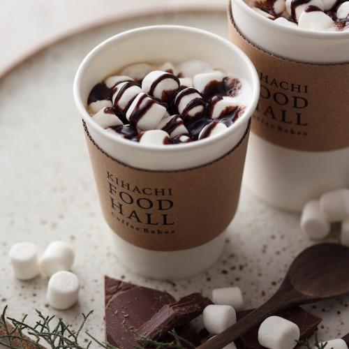 KIHACHI FOOD HALL Coffee Bakes チョコレート マシュマロ ラテ