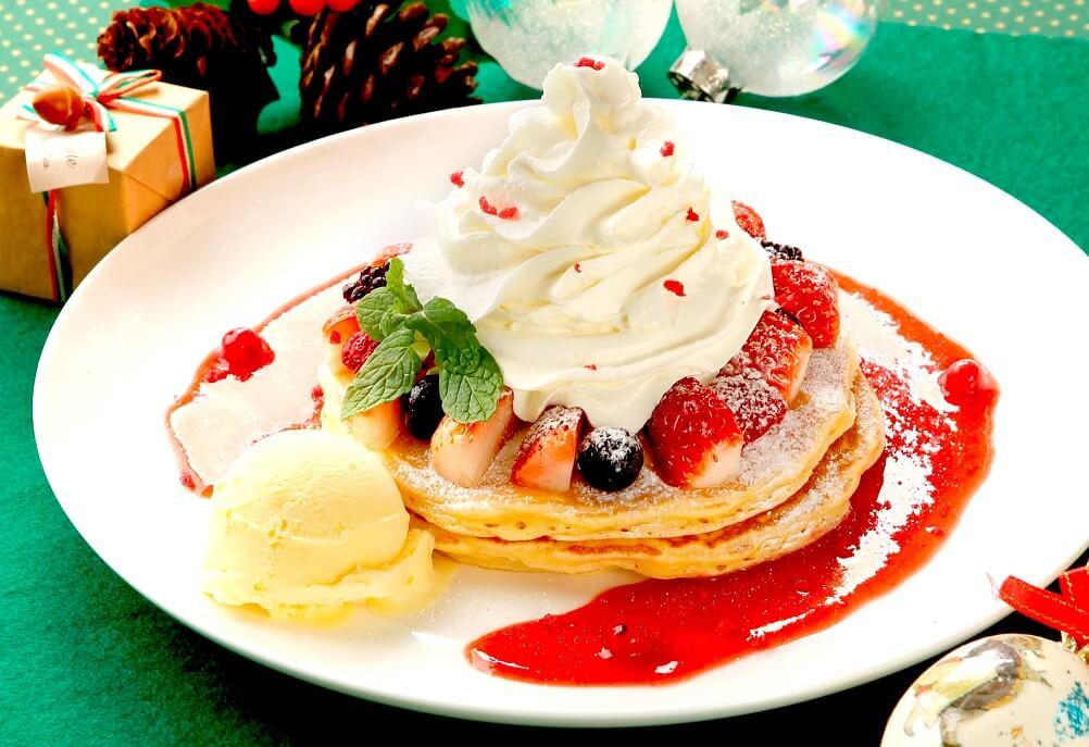 クアアイナ クリスマスパンケーキ