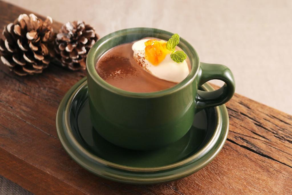 MARFA CAFE オレンジココア