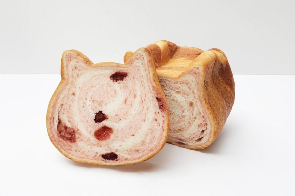ねこねこ食パン いちごとみるく